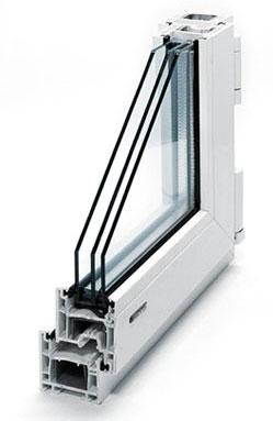 пластиковые окна KBE для дачи